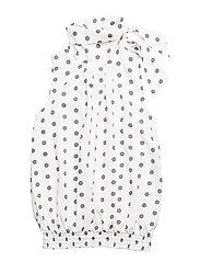 JULIA Top - White dots