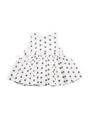 NINNI Dress - White dots