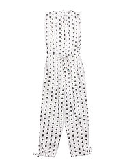 Moonlight Jumpsuit - White dots