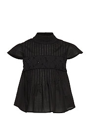 LUCY top - BLACK COTTON