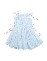 Coki dress - Blue/silver