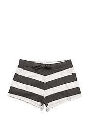 Dee shorts - White/black
