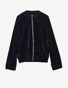 BELLA jacket - NAVY VELVET