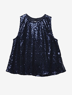A top - NAVY SPARKLE