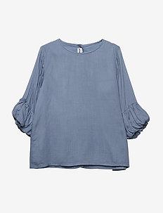 JODIE blouse - bluser & tunikaer - sky