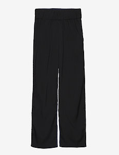 TWO pant - housut - black /navy viscose
