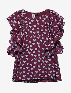 BLING TOP - chemisiers & tuniques - wine heart