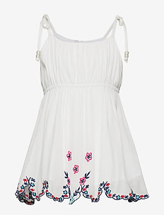 BLOOMY top - OFF WHITE EMBROIDERY