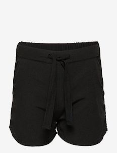DEE shorts - BLACK/SEWN BLACK EYLET