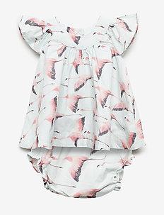 NUNA baby dress - mekot - flamingo