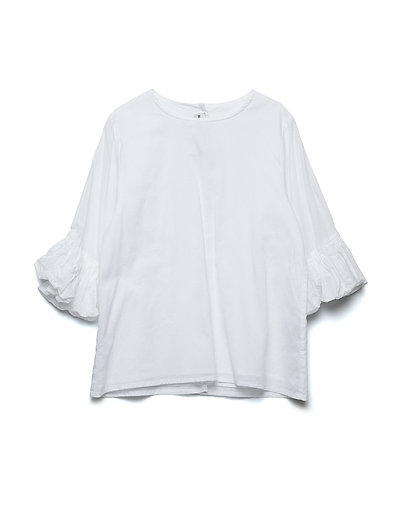 JODIE blouse - WHITE VOILE