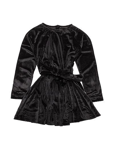 ADELE dress Velvet - BLACK