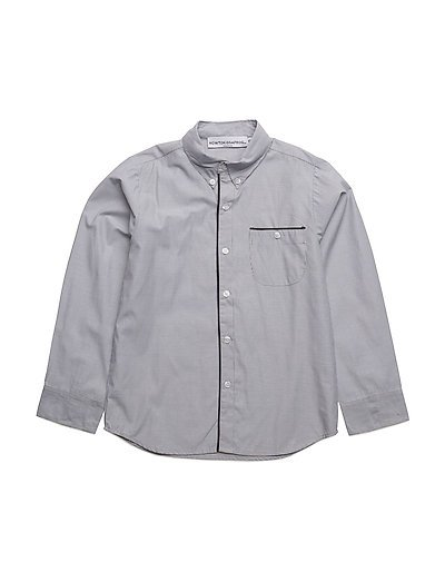 Fred shirt - BLACK/WHITE STRIPE