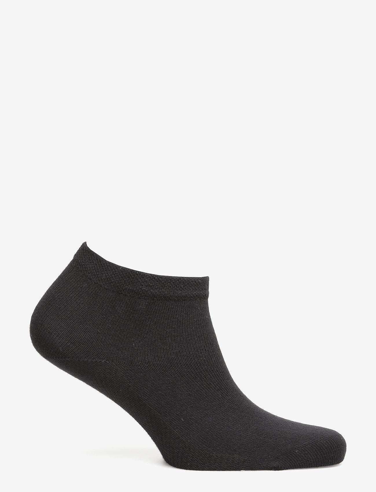 Hudson - DRY COTTON - footies - black - 1