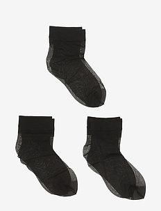 SIMPLY 20 3-PACK - strømper - black