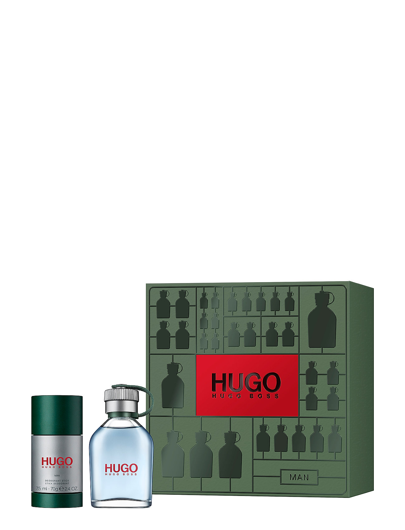 Hugo Boss Fragrance HUGO MAN EDT 75ML/DEO STICK 75ML - NO COLOR
