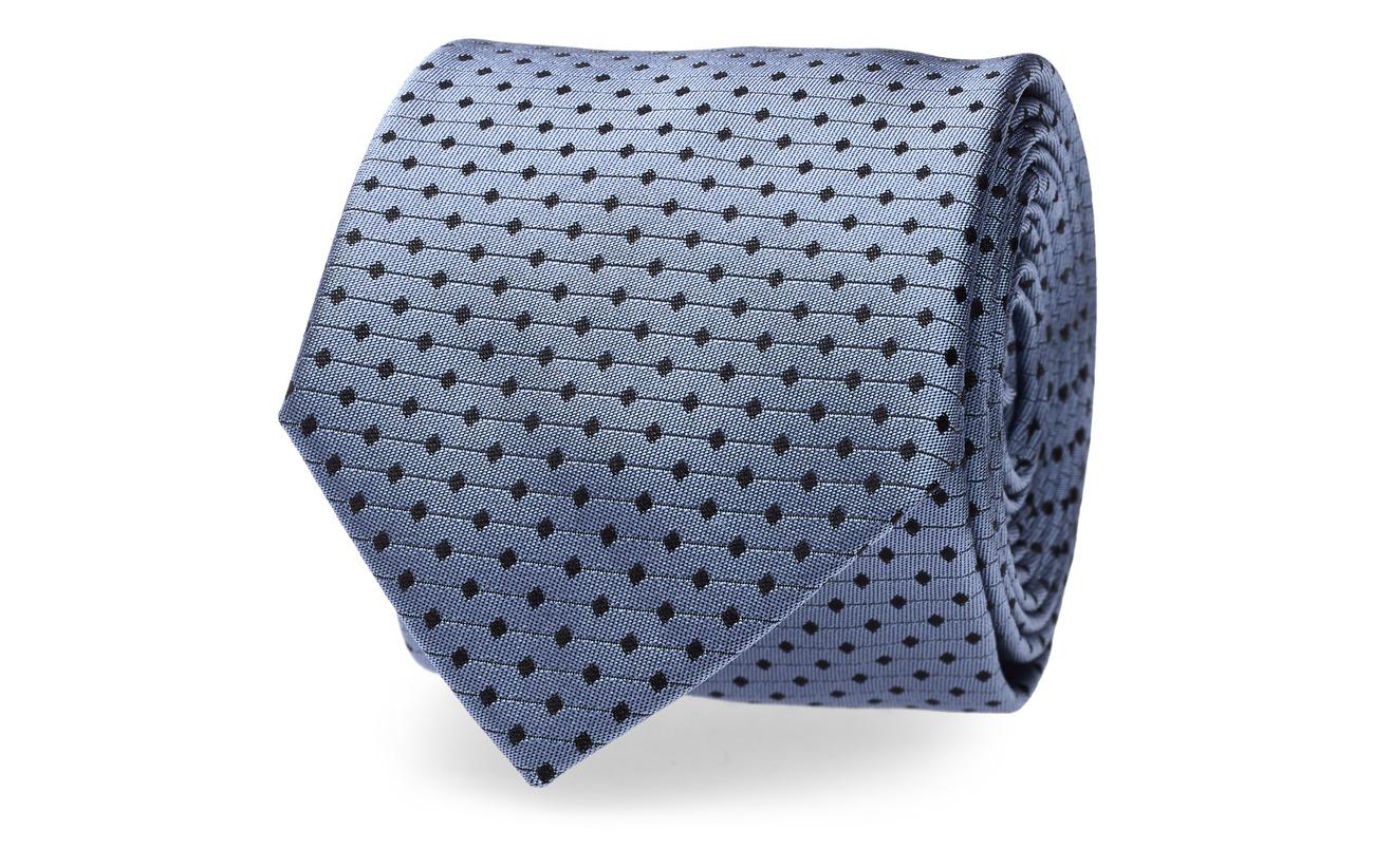 HUGO Tie cm 6 - MEDIUM BLUE
