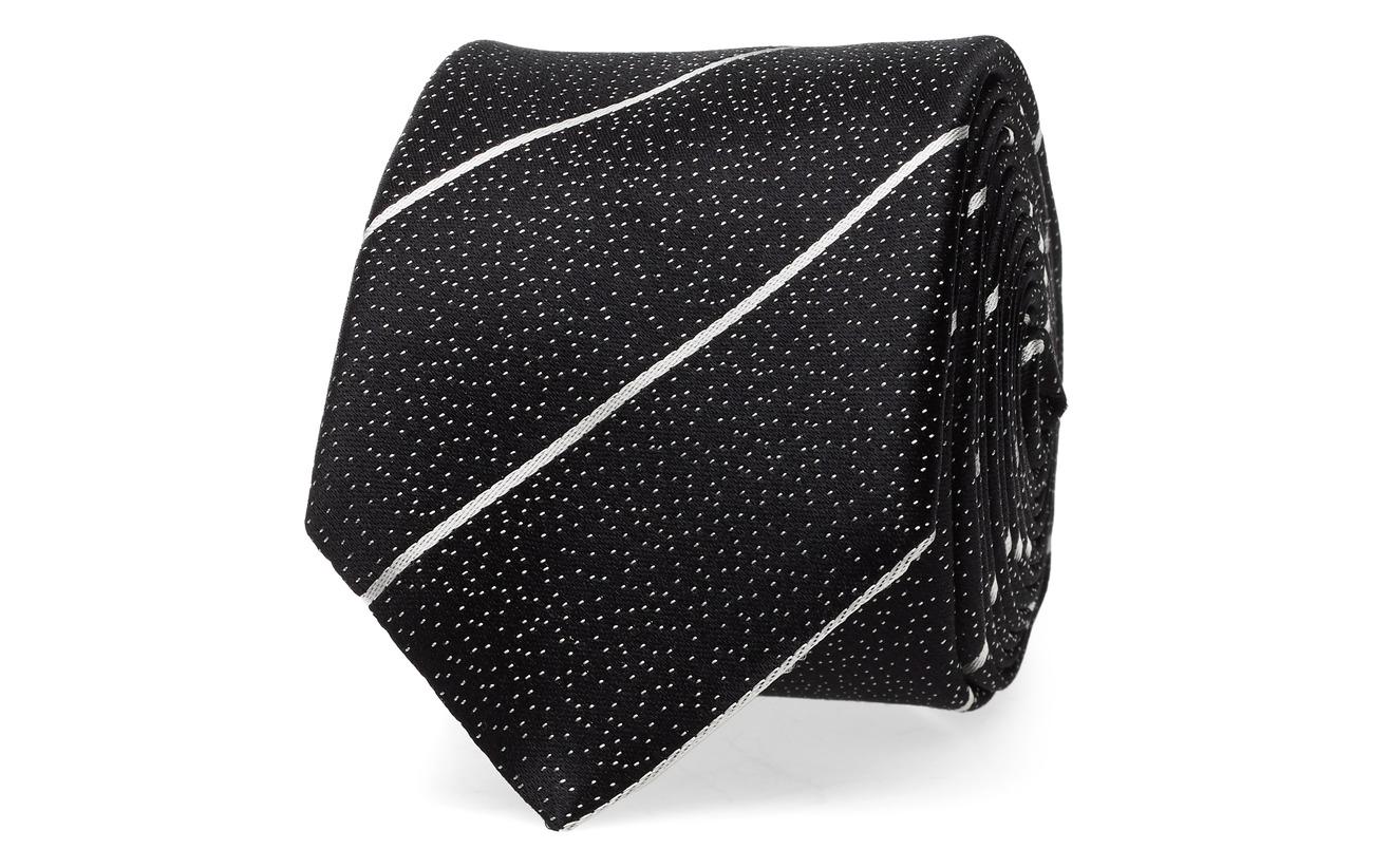 HUGO Tie cm 6 - BLACK