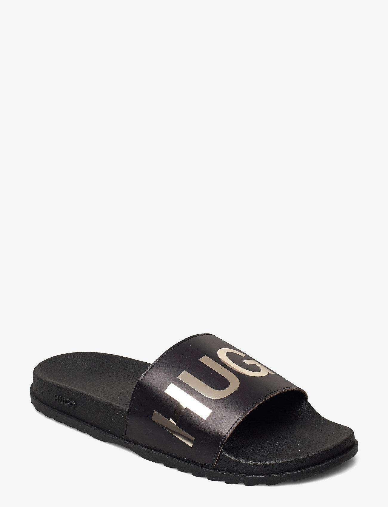 HUGO - Match_Slid_L - sandales de bain - black - 0