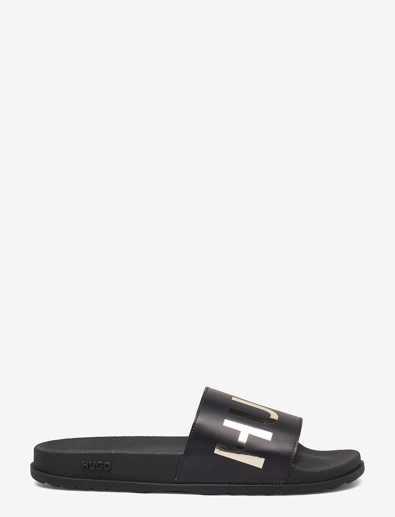 HUGO - Match_Slid_L - sandales de bain - black - 1