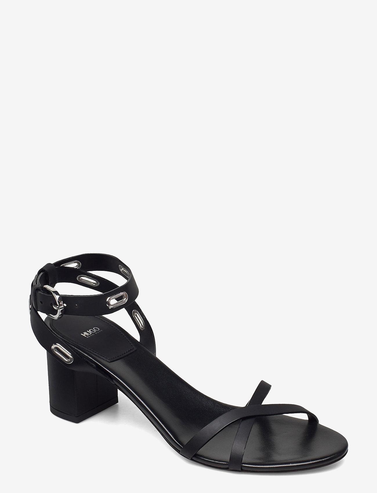 HUGO - Kimley Sandal 60-C - sandales à talons - black - 0