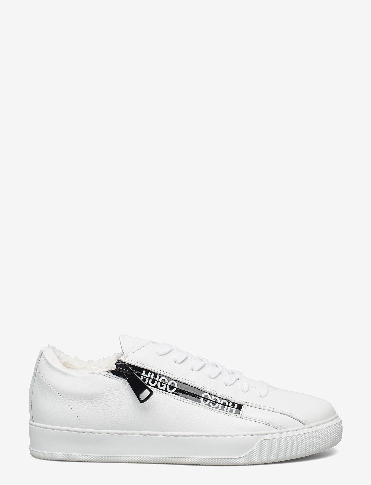 HUGO - Deva Lace Up-Zip - baskets basses - white - 1