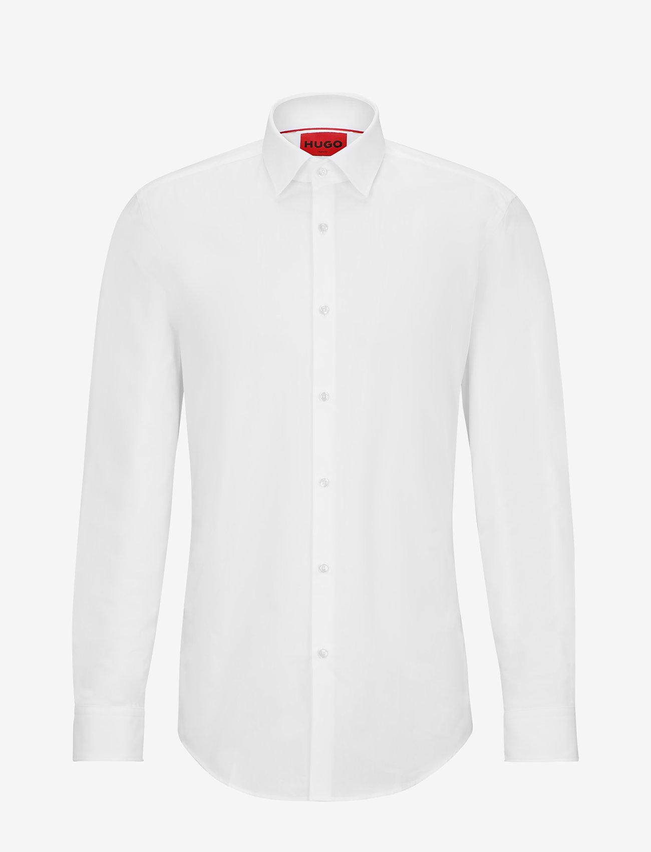HUGO - C-Jenno - basic krekli - open white - 0