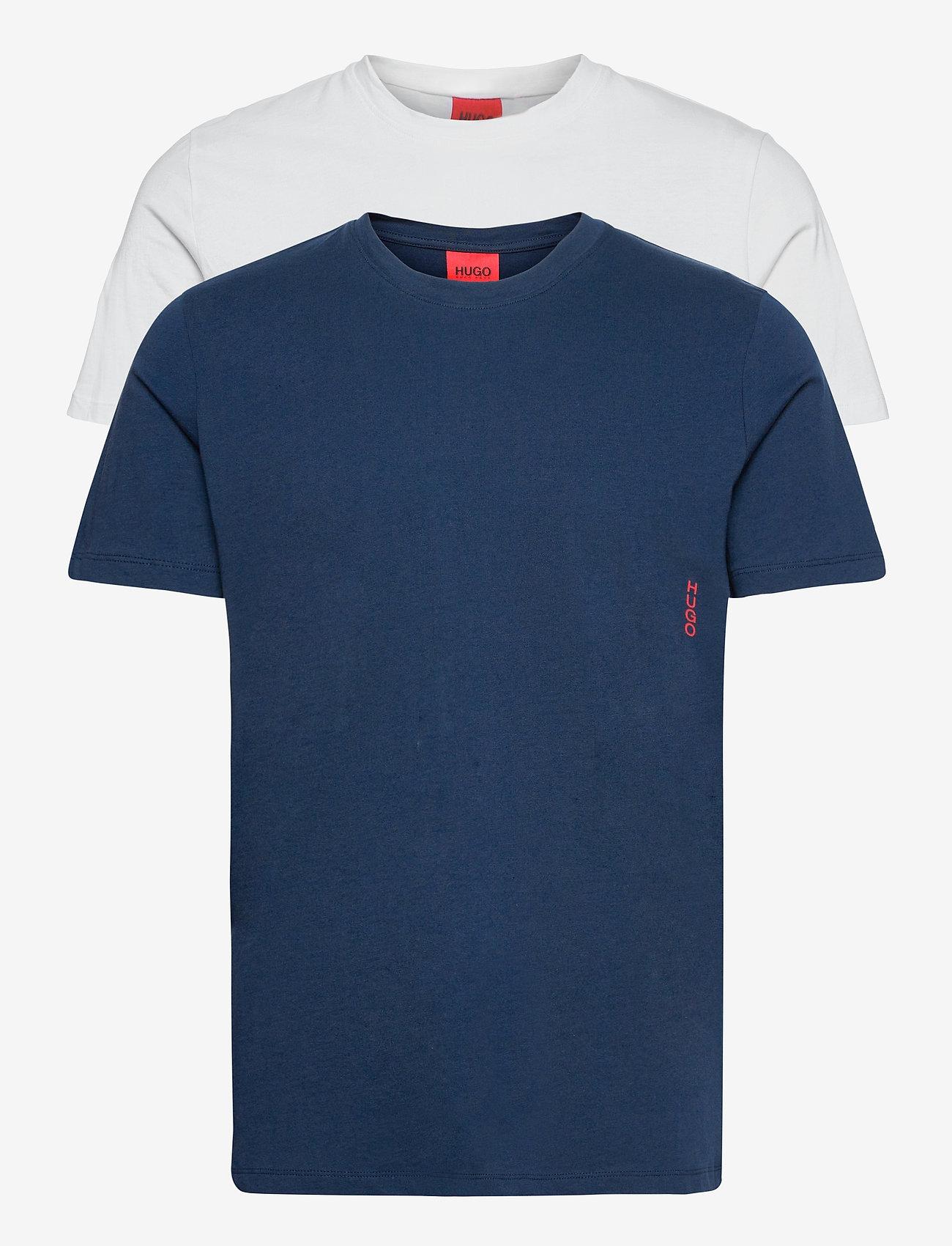 HUGO - T-SHIRT RN TWIN PACK - multipack - open blue - 0