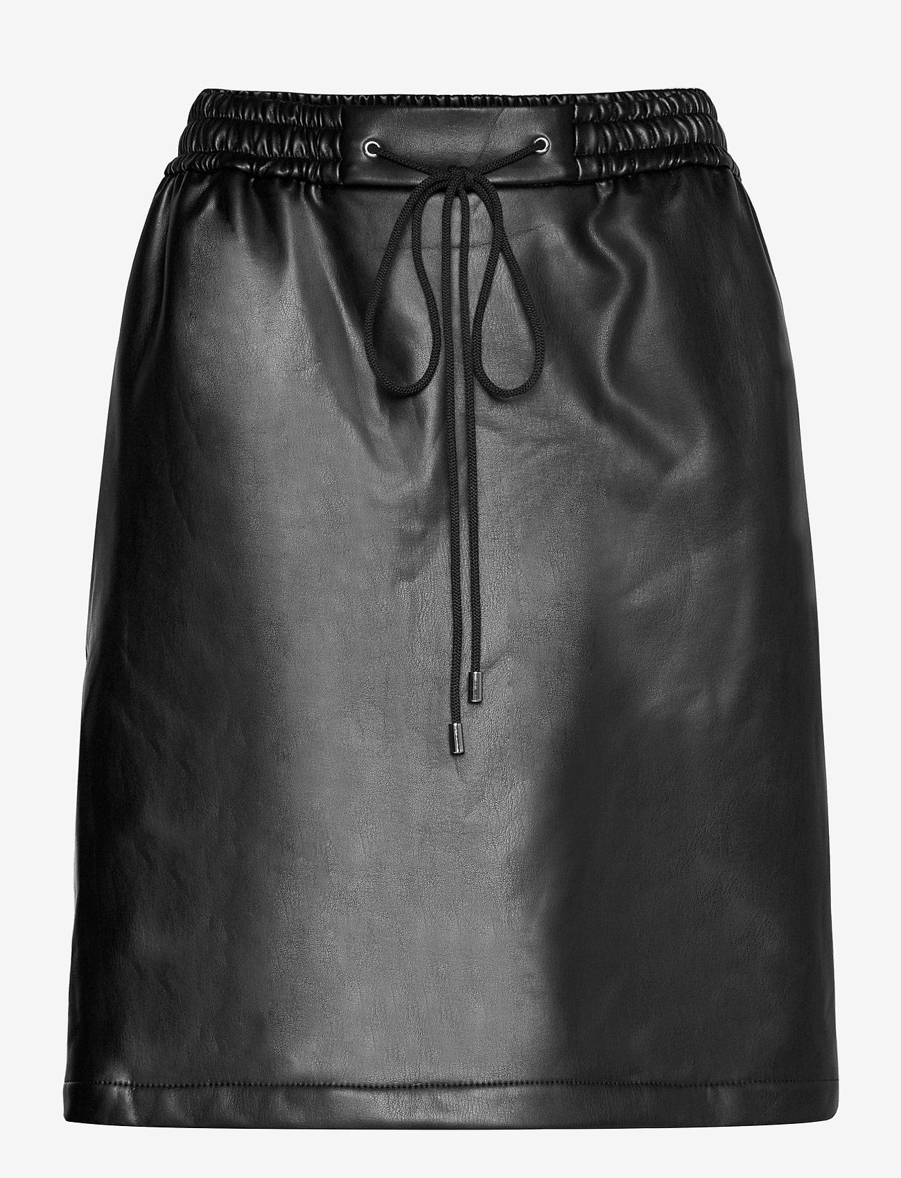 HUGO - Relani-1 - korta kjolar - black - 0