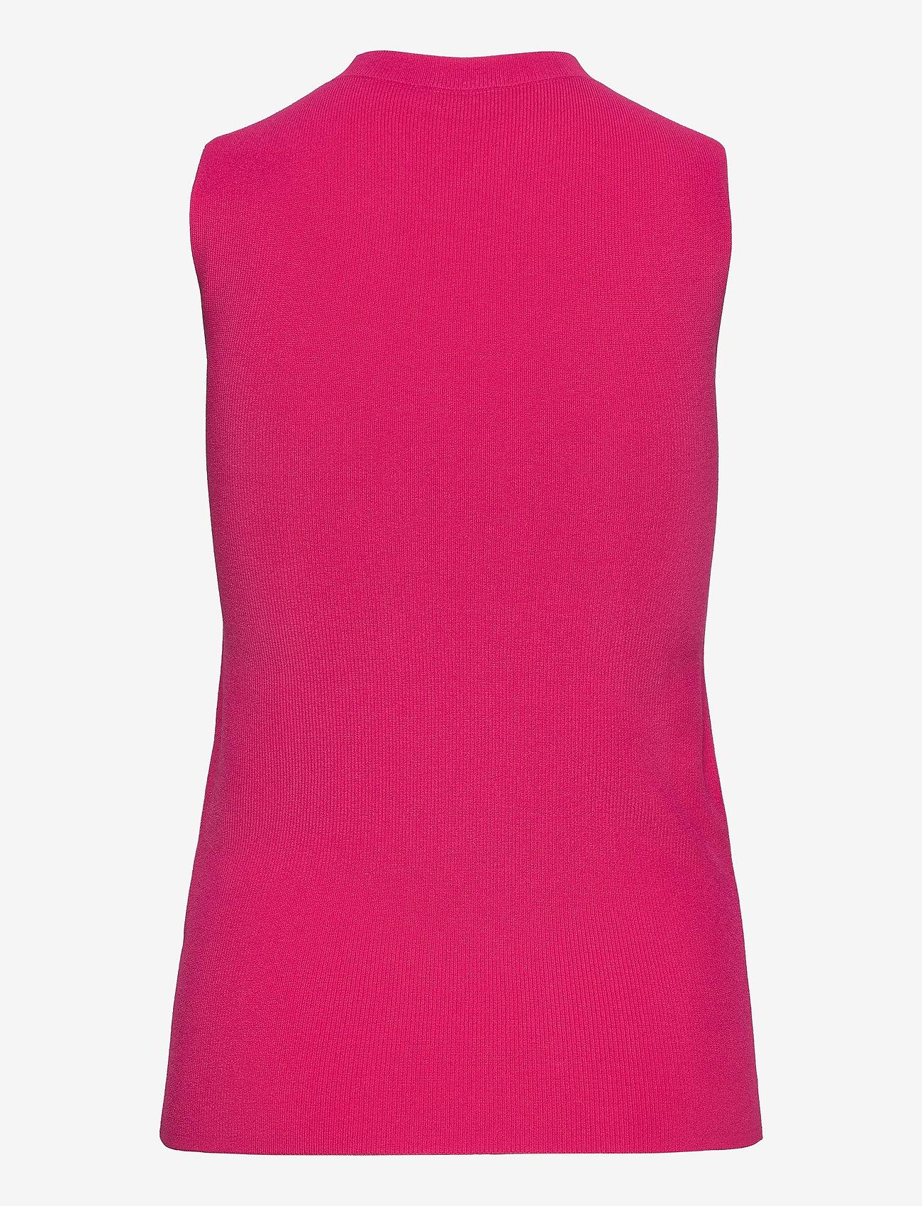 HUGO - Sook - strikkede toppe - bright pink - 1