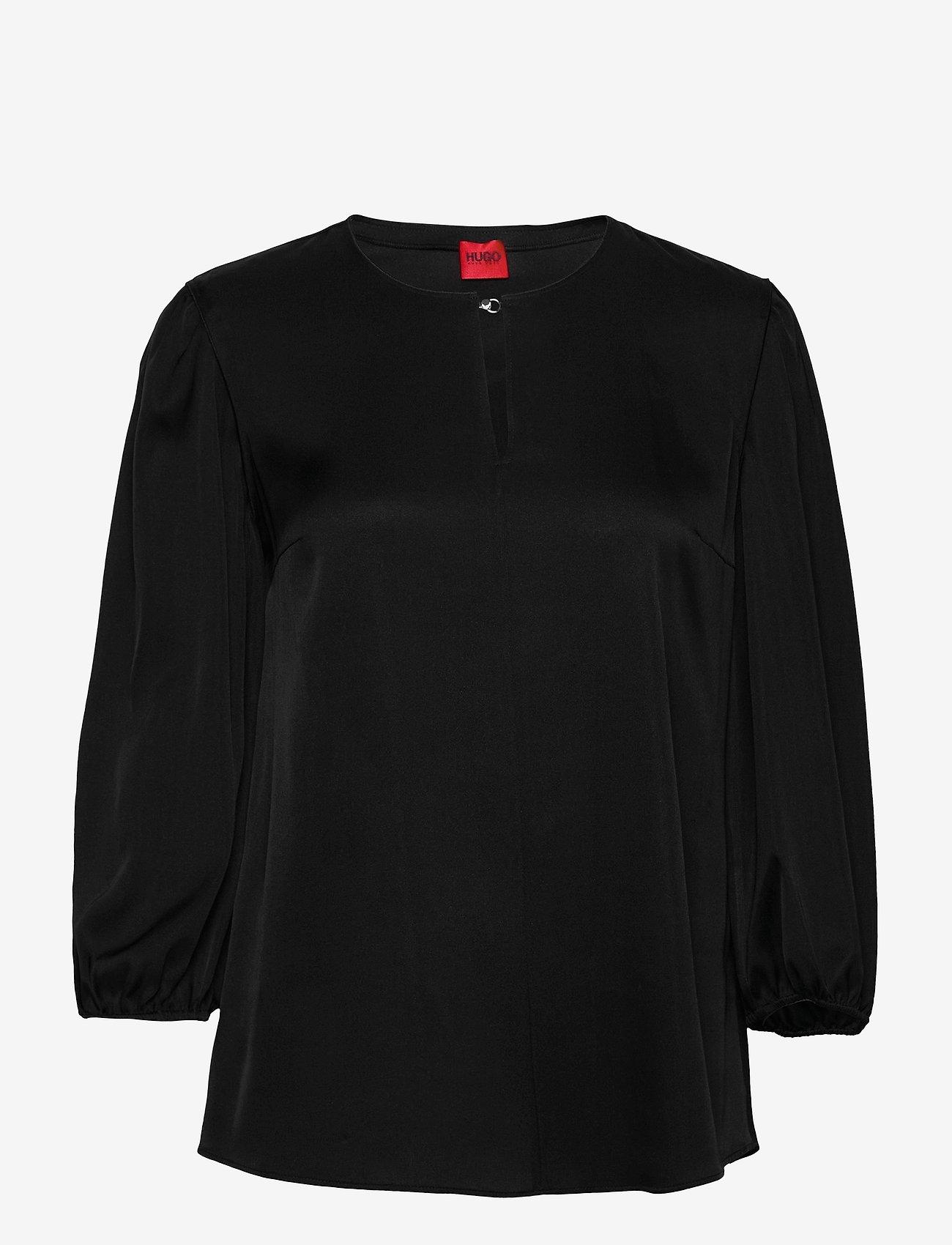 HUGO - Celinas-1 - blouses à manches longues - black - 0