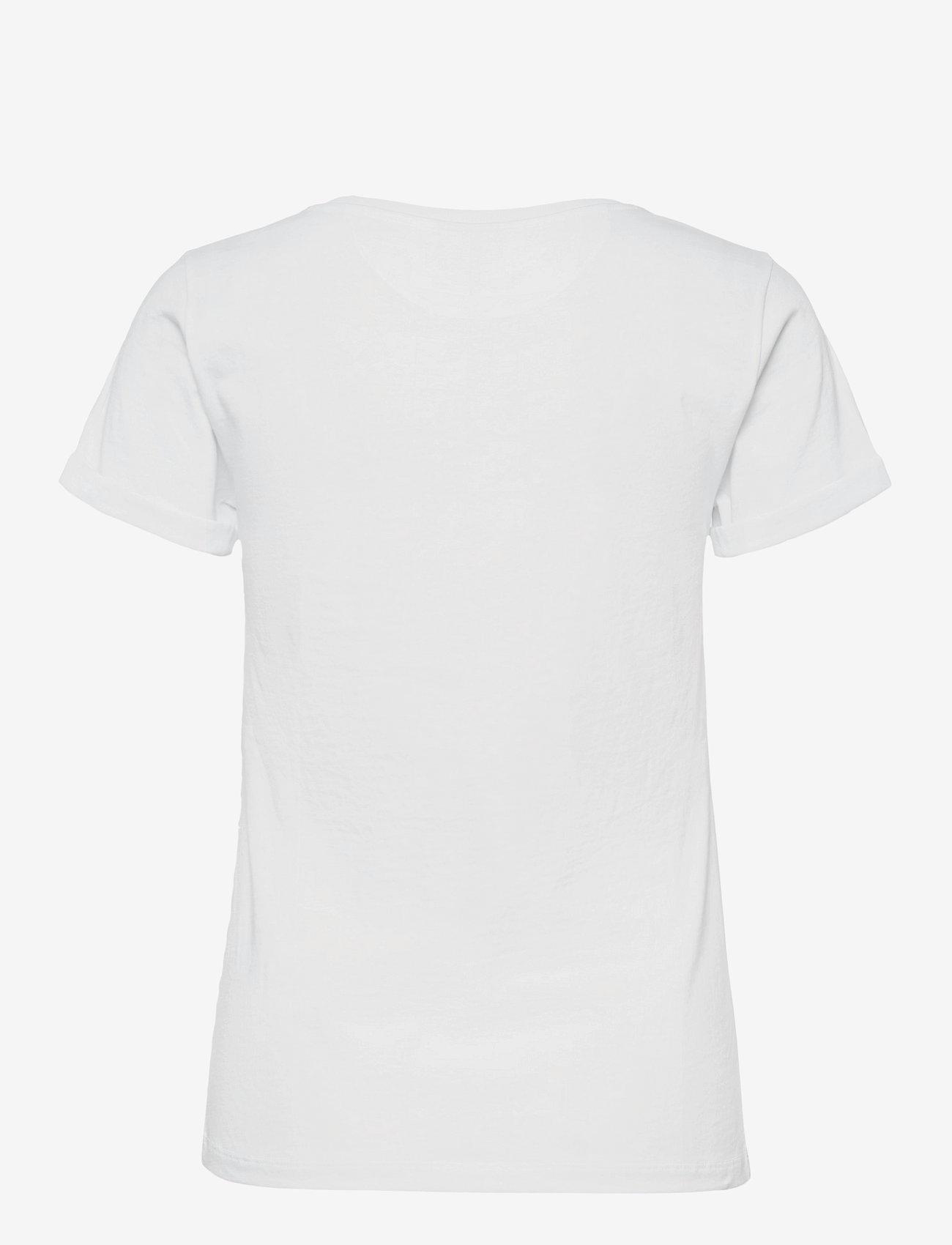 HUGO - The Slim Tee 6 - t-shirts - medium red - 1