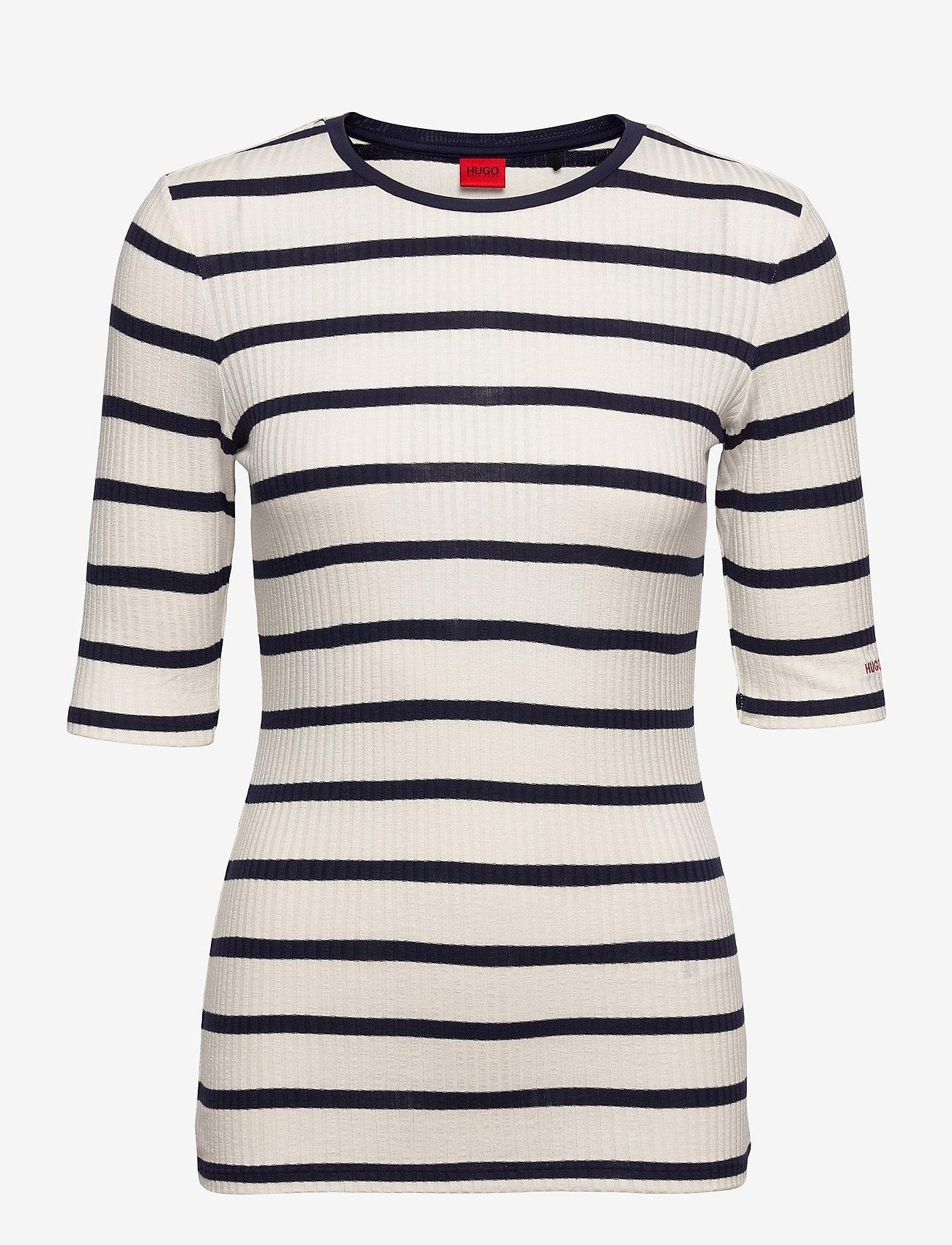 HUGO - Nilara - t-shirts - open blue - 0