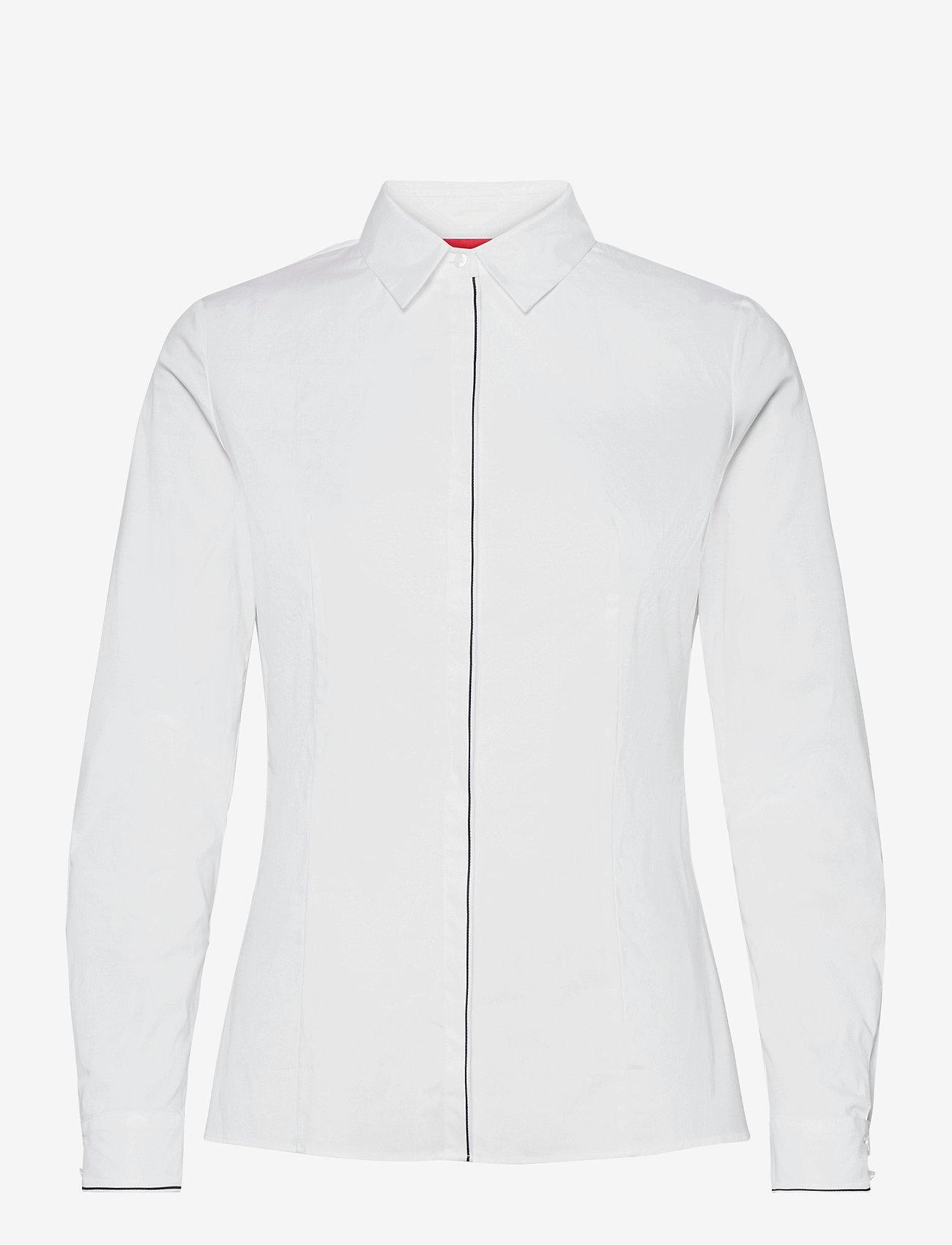 HUGO - Etrina1 - blouses à manches longues - white - 0