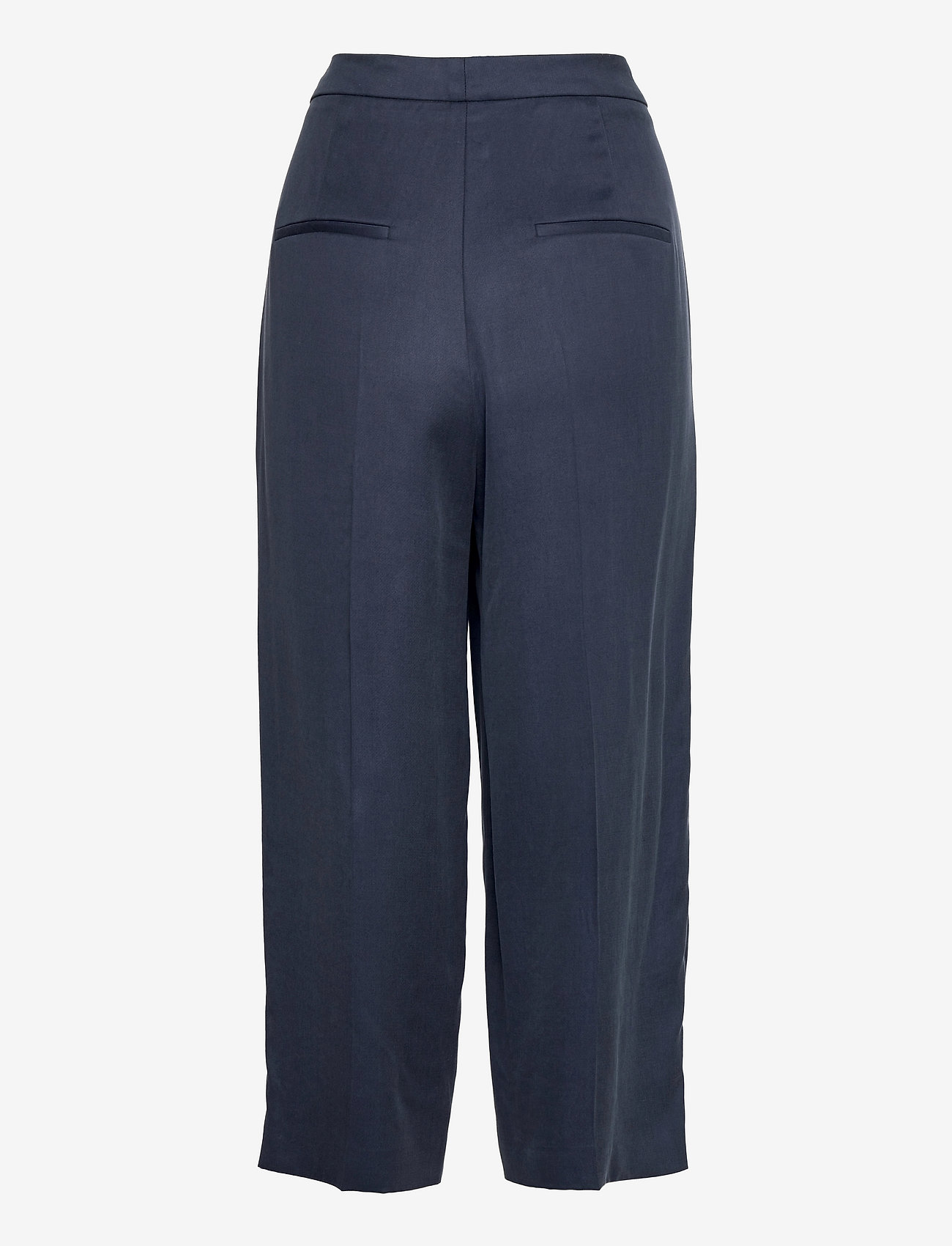 HUGO - Hakisa - bukser med brede ben - dark blue - 1