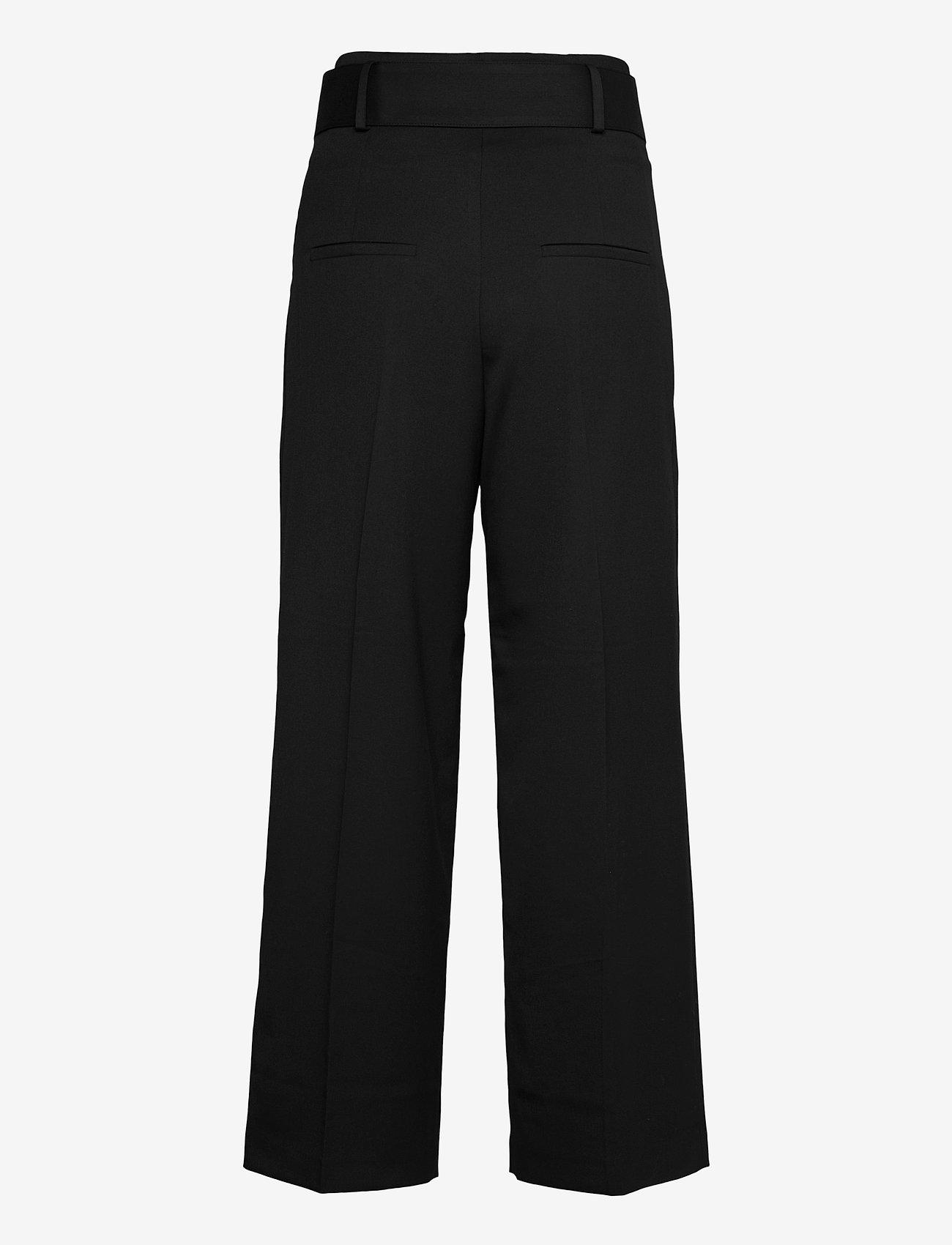 HUGO - Hugesa - bukser med brede ben - black - 1