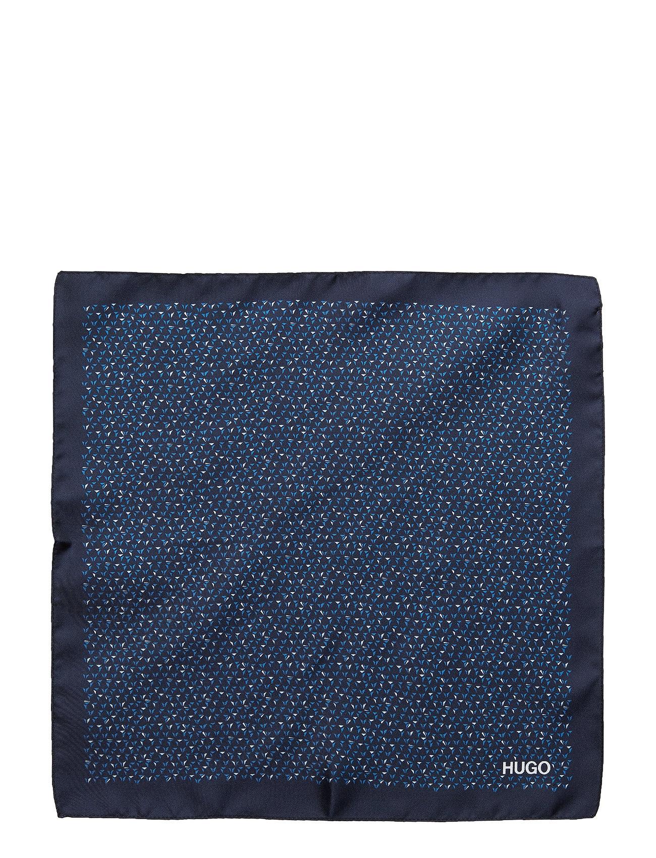 Pocketsquare 33x33cm Brystlommetørklæde Blå HUGO