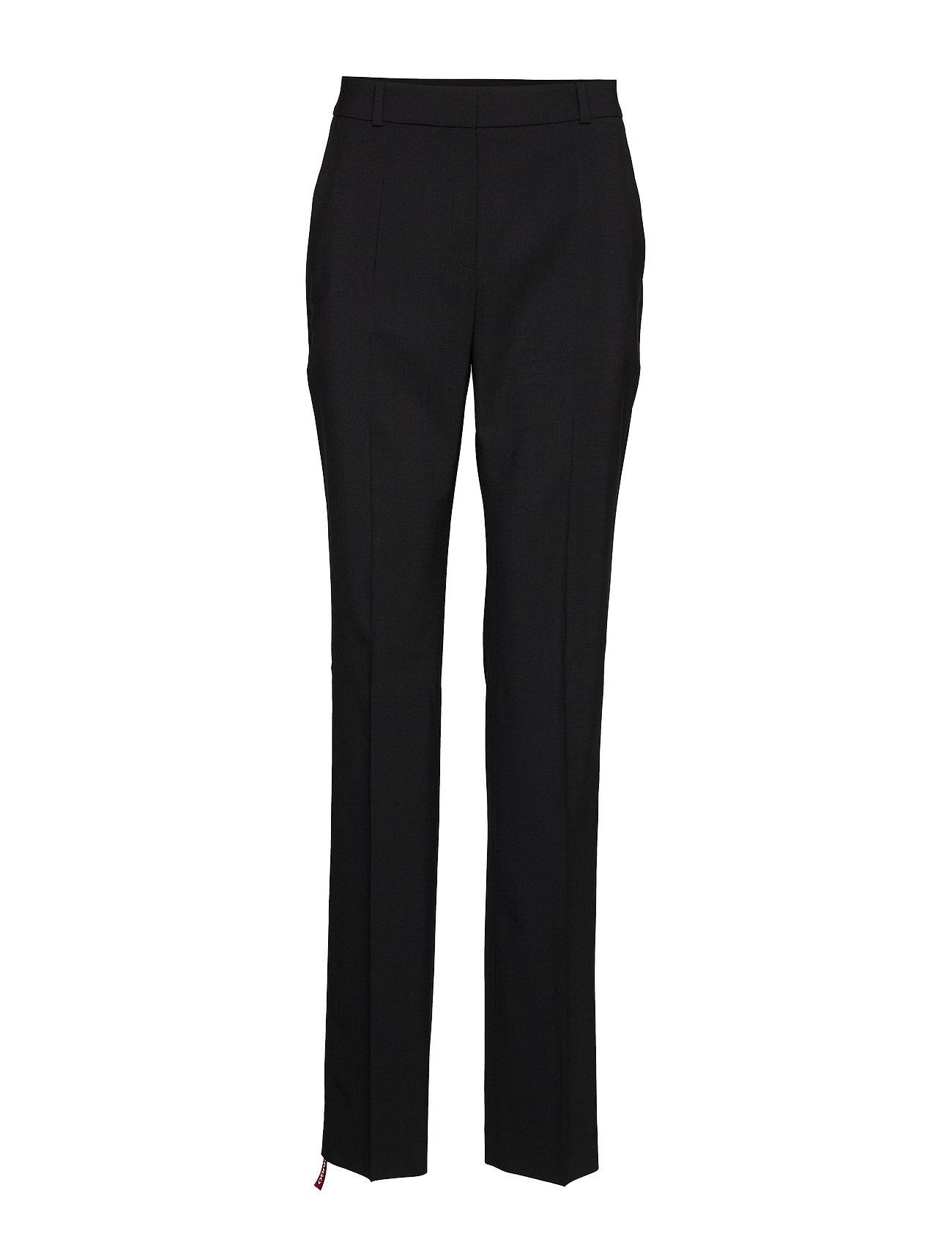 HUGO The Regular Trousers - BLACK