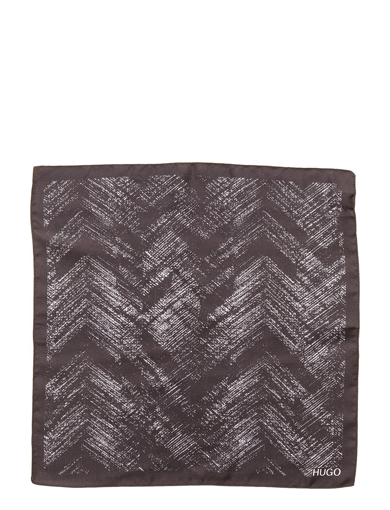 Pocketsquare 33x33cm Brystlommetørklæde Sort HUGO