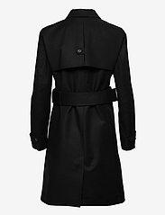 HUGO - Makia-1 - trenchcoats - black - 1