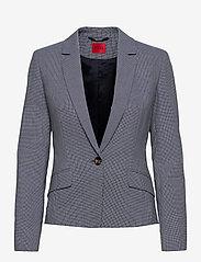HUGO - Alaias - blazers à fermeture droite - medium blue - 0