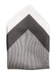 Pocketsquare 33x33cm - BLACK