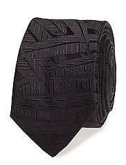 Tie cm 5 - BLACK
