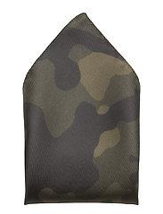 Pocketsquare 33x33cm - DARK GREEN