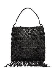 West Shoulder Bag - BLACK