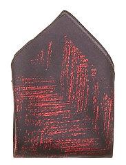 Pocketsquare 33x33cm Bröstnäsduk Röd HUGO