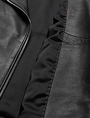 HUGO - Lelari - skinnjackor - black - 3