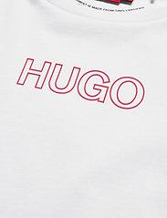 HUGO - The Slim Tee 6 - t-shirts - medium red - 3