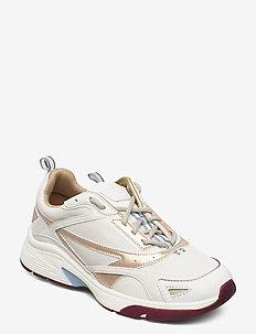 Gilda_runn_pe - lave sneakers - open white
