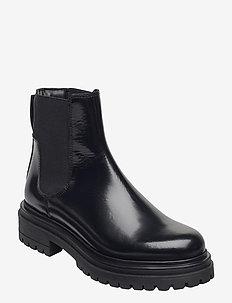 Alpha Chelsea-C - platta ankelboots - black